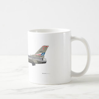 General Dynamics F-16D Fighting Falcon Tex ANG col Coffee Mug