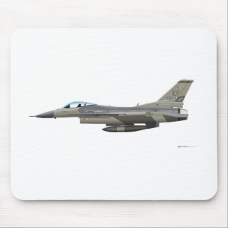 General Dynamics F-16D Fighting Falcon Tex ANG sub Mouse Pad