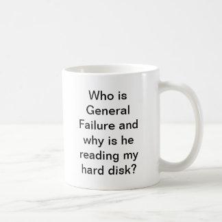 General Failure mug