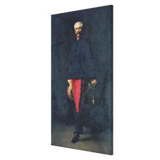 General Gaston Auguste  Marquis de Gallifet Canvas Print