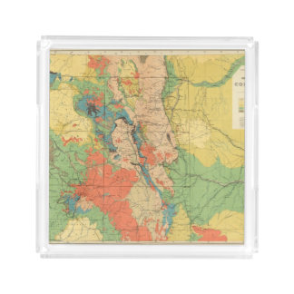 General Geological Map of Colorado Acrylic Tray