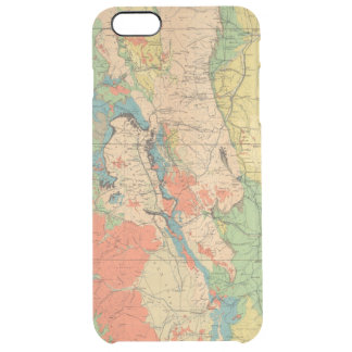 General Geological Map of Colorado Clear iPhone 6 Plus Case
