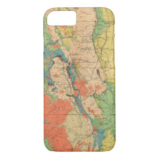 General Geological Map of Colorado iPhone 8/7 Case