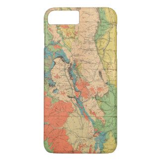 General Geological Map of Colorado iPhone 8 Plus/7 Plus Case