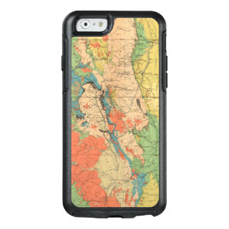 General Geological Map of Colorado OtterBox iPhone 6/6s Case