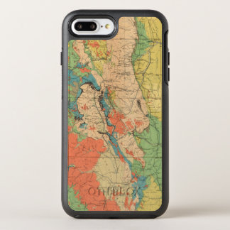 General Geological Map of Colorado OtterBox Symmetry iPhone 7 Plus Case