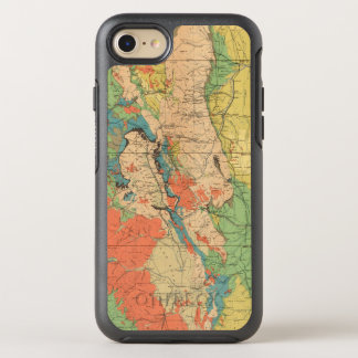 General Geological Map of Colorado OtterBox Symmetry iPhone 8/7 Case