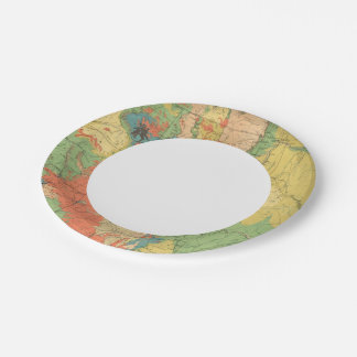 General Geological Map of Colorado Paper Plate
