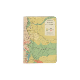 General Geological Map of Colorado Passport Holder