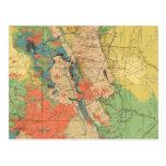 General Geological Map of Colorado Postcard