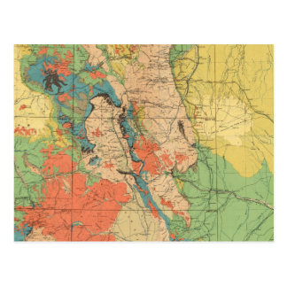 General Geological Map of Colorado Post Card