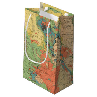General Geological Map of Colorado Small Gift Bag