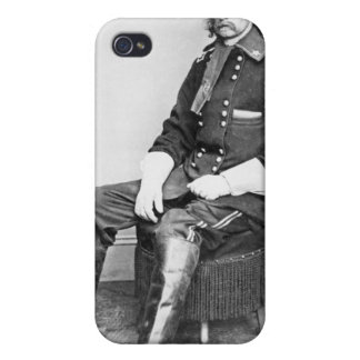 General George A. Custer (b/w photo) Case For iPhone 4