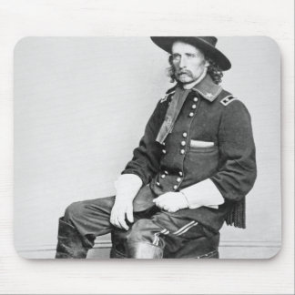 General George A. Custer (b/w photo) Mouse Pad