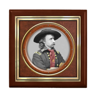 General George A. Custer Large Square Gift Box