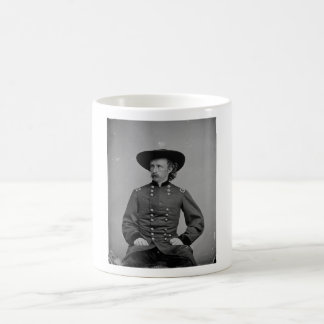 General George Armstrong Custer by Mathew Brady Basic White Mug