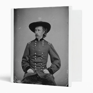 General George Armstrong Custer by Mathew Brady Binder