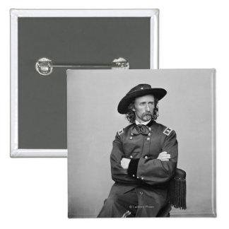 General George Custer 1 15 Cm Square Badge