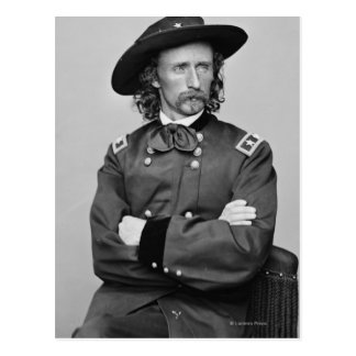 General George Custer 1 Postcard