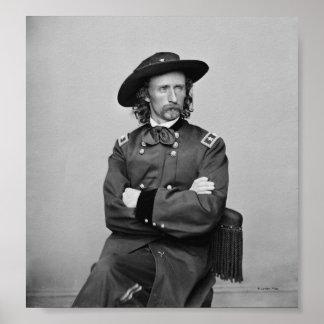 General George Custer 1 Poster