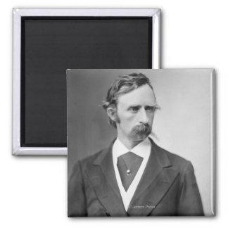 General George Custer Square Magnet