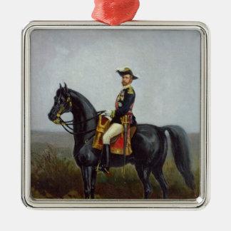 General George Ernest Boulanger Silver-Colored Square Decoration