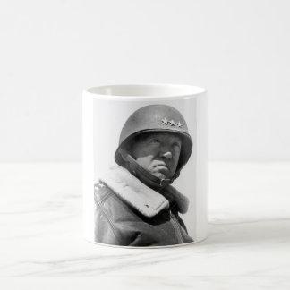 General George Patton -- WW2 Basic White Mug