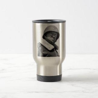 General George Patton -- WW2 Stainless Steel Travel Mug