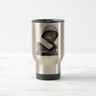 General George Patton -- WW2 Travel Mug
