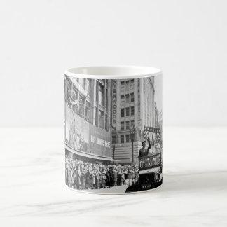 General George S. Patton acknowledging_War image Coffee Mug