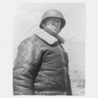 GENERAL GEORGE S. PATTON FLEECE BLANKET