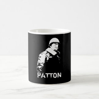 General George S. Patton Jr. Basic White Mug
