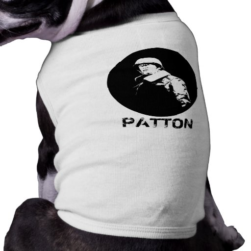 General George S. Patton Jr. Pet T-shirt