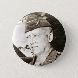 General George Smith Patton 6 Cm Round Badge