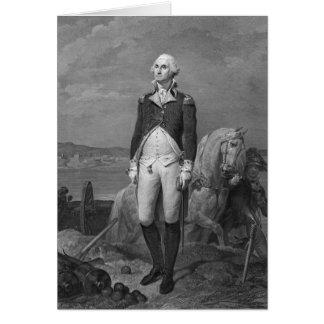 General George Washington 1839 Greeting Card