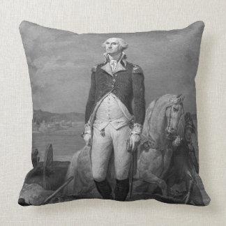 General George Washington 1839 Throw Cushion