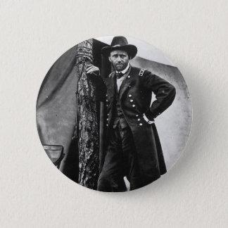 General Grant 6 Cm Round Badge