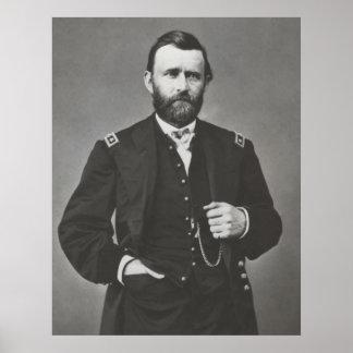 General Grant During The Civil War Print