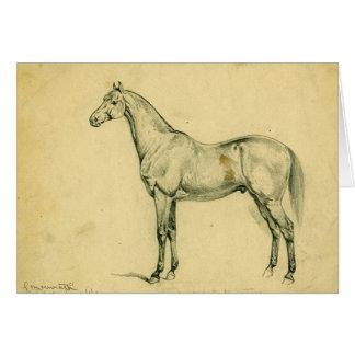 General Grant's War Horse Card