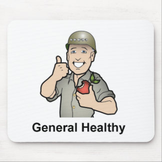 General Health Gear Mouse Pad