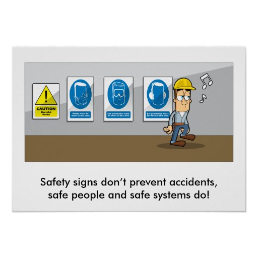 General Health & Safety Refresher 001 Poster