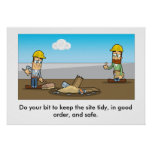 General Health & Safety Refresher 002 Poster