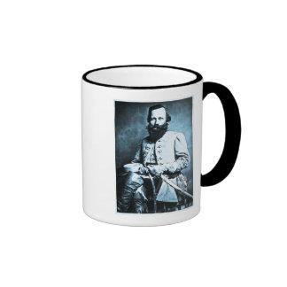 General J.E.B. Stuart Confederate Hero Ringer Coffee Mug