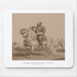 General James Garfield -- Civil War Mouse Pads