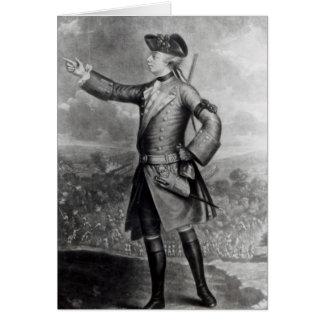 General James Wolfe Card