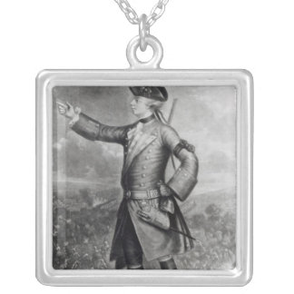 General James Wolfe Silver Plated Necklace