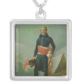 General Jean-Victor Moreau Silver Plated Necklace