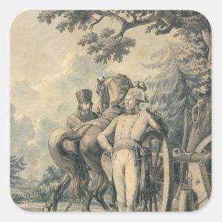 General Jean Victor Moreau Square Sticker