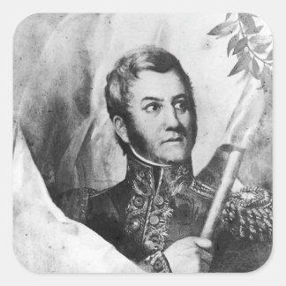 General Jose de San Martin Square Sticker