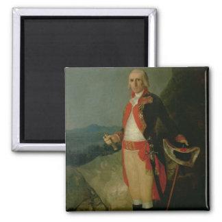 General Jose de Urrutia  1798 Square Magnet